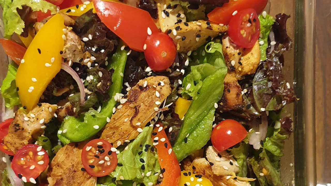 Grilled Chicken Salad Recipe Healthy Tasty Weight Loss Recipe Imwow Youtube