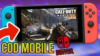 😱 CALL OF DUTY MOBILE para NINTENDO SWITCH FUNCIONANDO al 100%