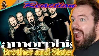 Na das fetzt ja richtig   Amorphis - Brother and Sister   Reaction   German