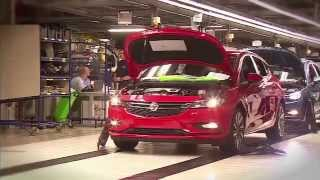 New 2015 Opel Astra -Assembly Plant Gliwicach Footage