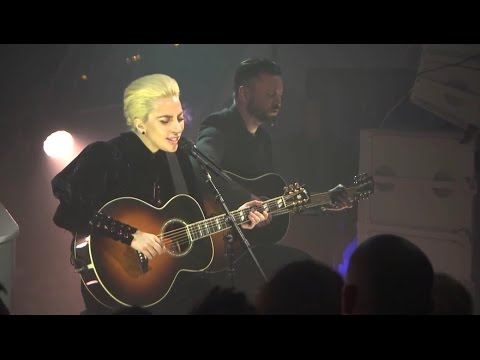 Lady Gaga performs at surprise event in Westfield, London - 12/01/16