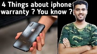 4 Things to know about apple iphone warranty | Not included under warranty?