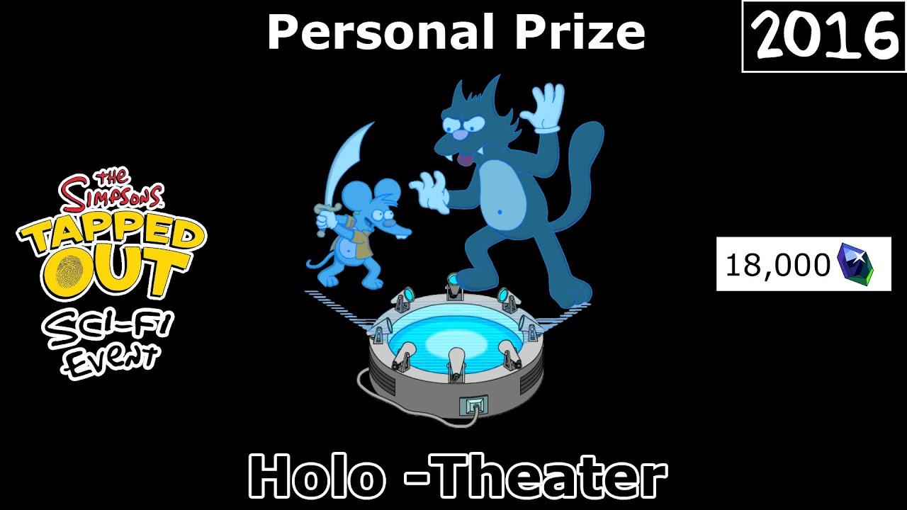 Download TSTO - Sci-Fi Event | Holo -Theater | Personal Prize