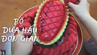 Trang trí Dưa hấu   Phượng Phạm   Thiên đường ẩm thực