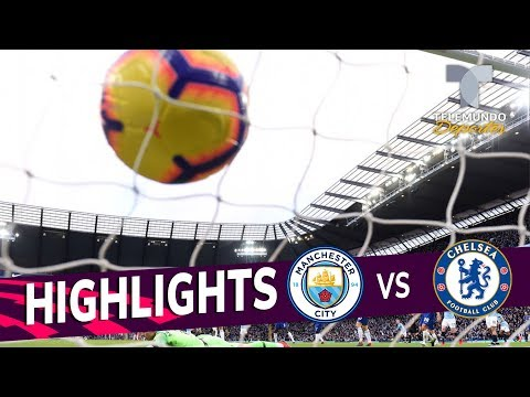 Manchester City vs. Chelsea: 6-0 Goals & Highlights | Premier League | Telemundo Deportes