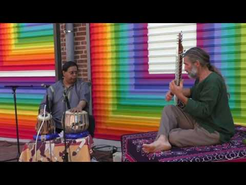 John Protopapas & Broto Roy's Raga Madhuvanti live with Yoga