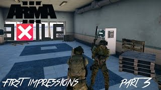 Arma 3 - Exile Mod - First impressions - Part 3 - Base Building [60FPS]