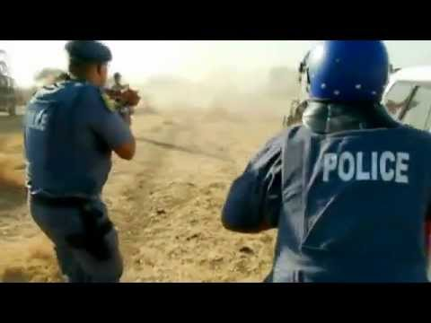 South African police fire on striking miners - Today's Zaman