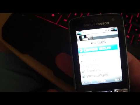 Sony Ericsson k850i like an Iphone 3gs in high definition