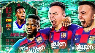 FIFA 20: Barcelona ANSU FATI Squad Builder Battle | Ultimate Team (deutsch)