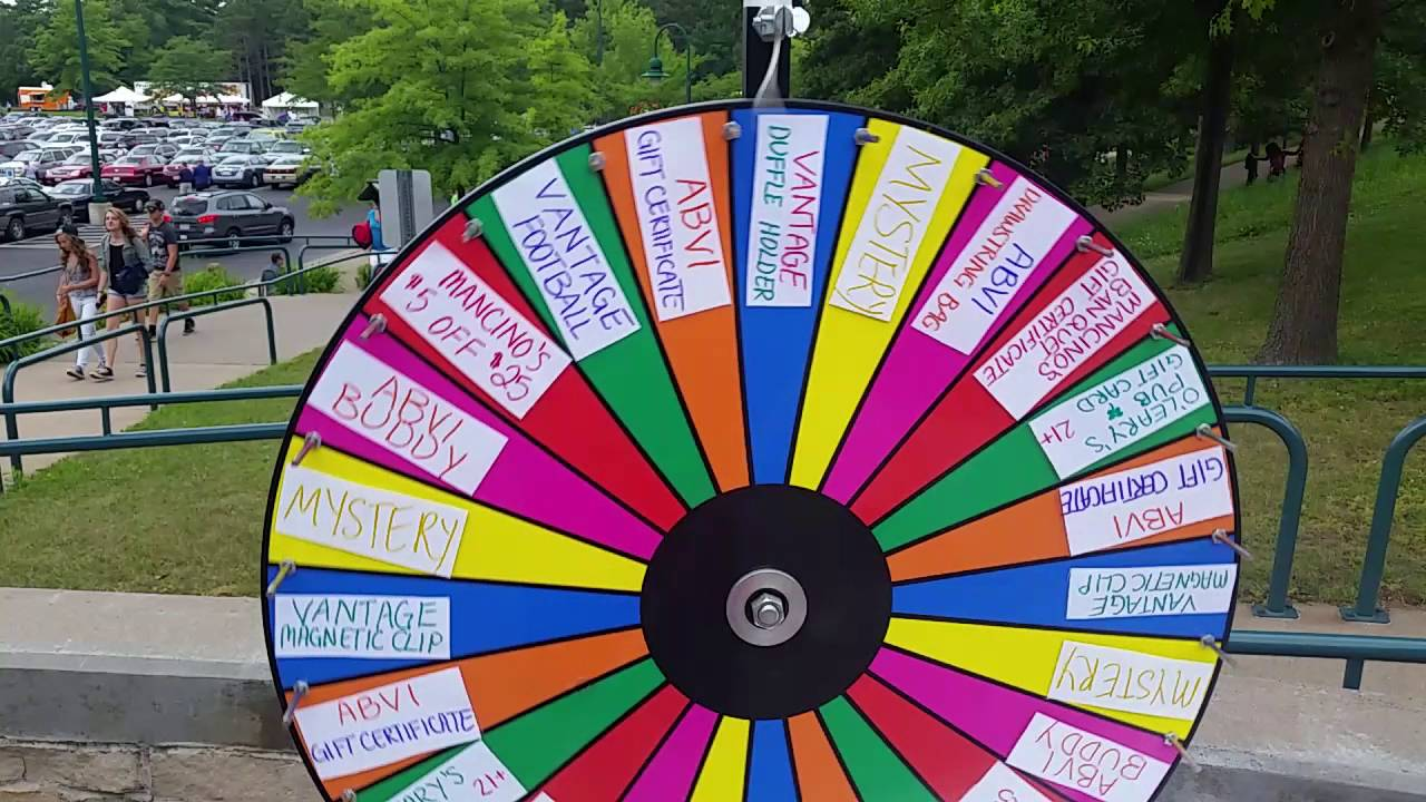 Giftcard Prize Wheel Spin Youtube