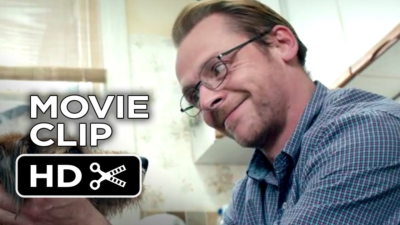 Absolutely Anything Movie CLIP - Biscuits (2015) - Simon Pegg, Robin ...