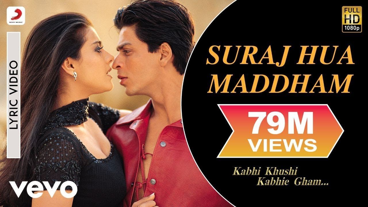 Suraj Hua Maddham Lyrics - Alka Yagnik, Sonu Nigam|Selflyrics