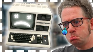 Скачать Tandy TRS 80 Model 4 Power On After 10 Years And Fails