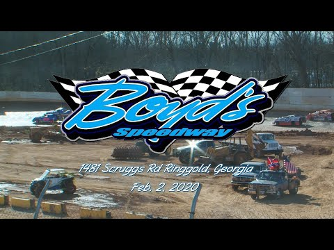 KMSA Mini Stocks @ Boyds Speedway Cabin Fever Feb  2, 2020