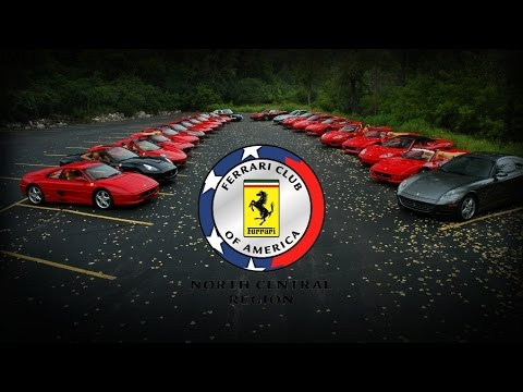 Ferrari Club of America: North Central Region, 2014 Masterpiece Rally