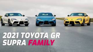 FIRST LOOK: 2021 Toyota GR Supra 2.0 & 3.0 Family