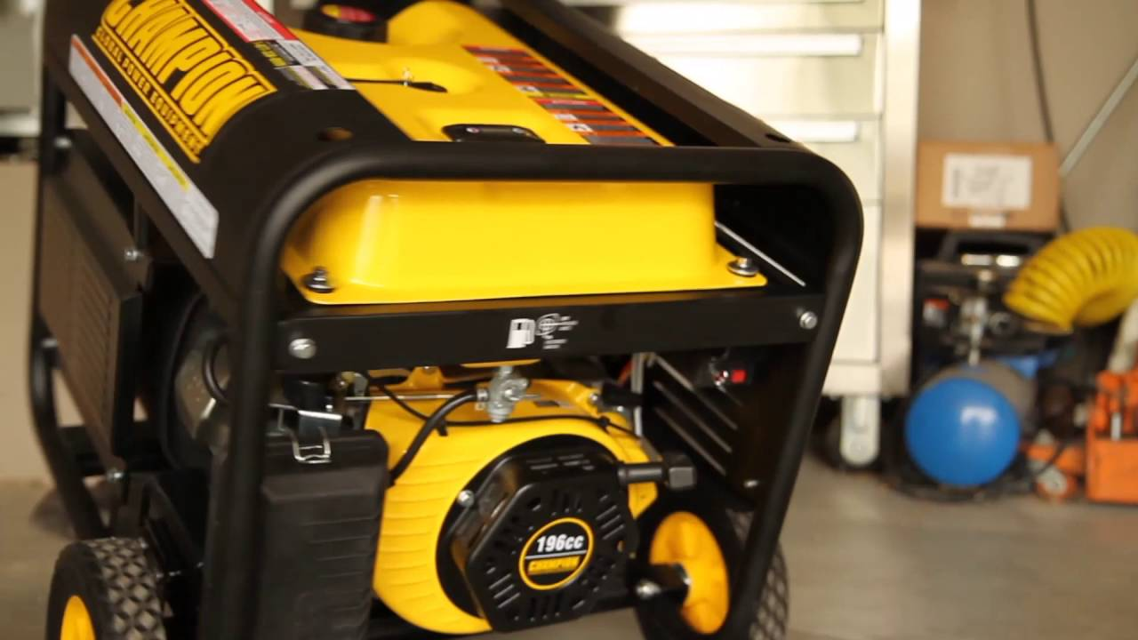 hight resolution of how to store a portable generator champion power equipment