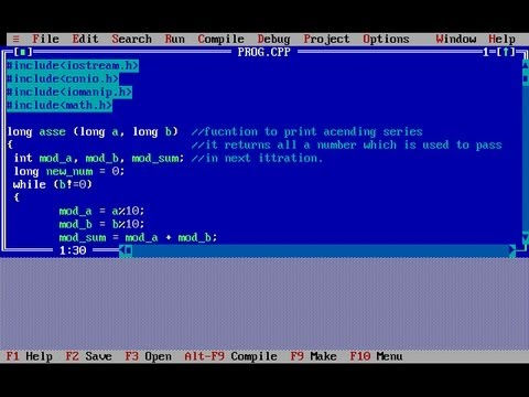 turbo c programming software free