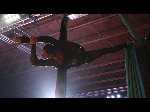 Jennifer Wilkins  Aerial Silks  Hanging On  Ellie Goulding  RAW SLC
