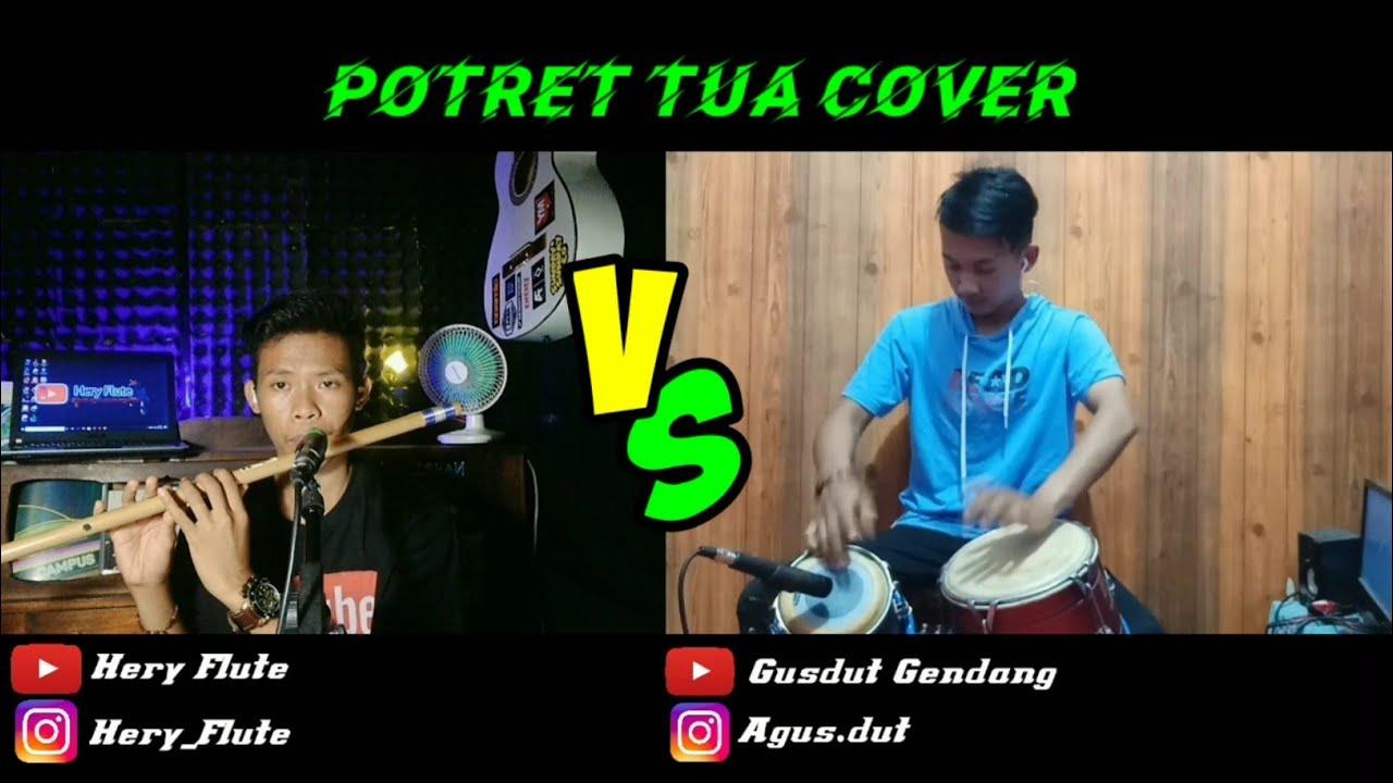 cover lagu dangdut dan lirik - Potret tua Yunita Ababil