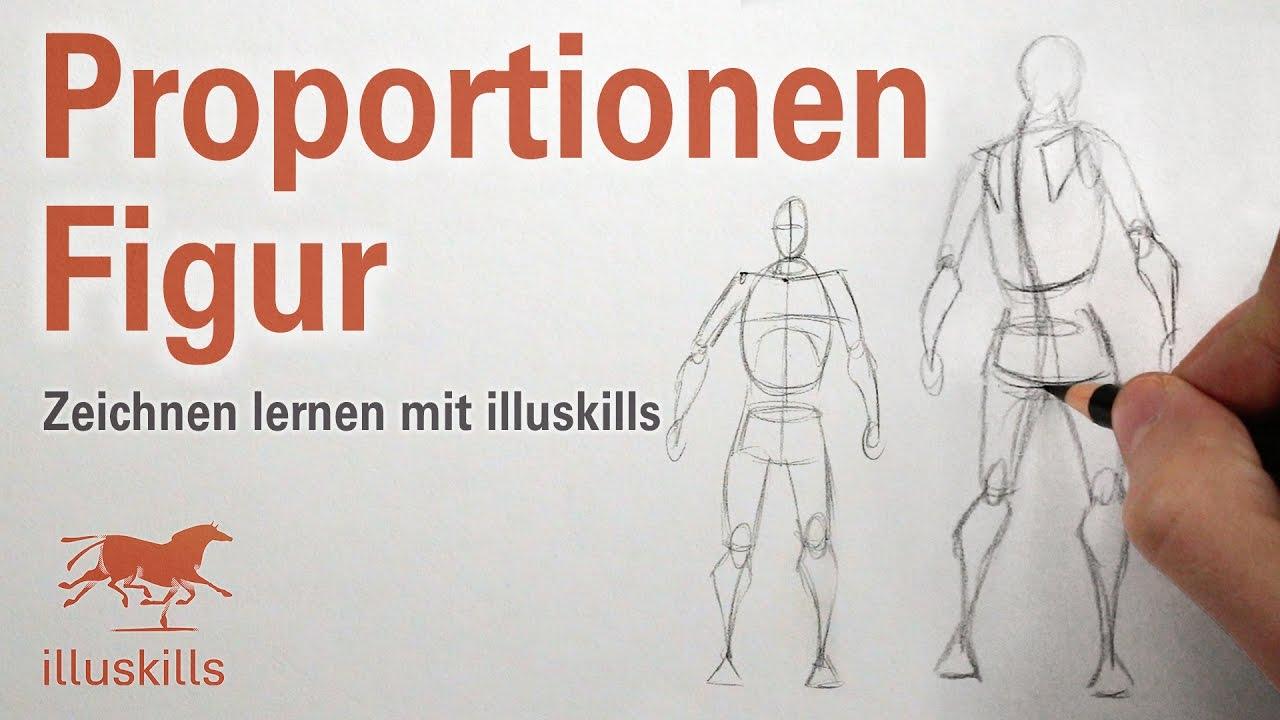 Proportionen der menschlichen Figur - YouTube