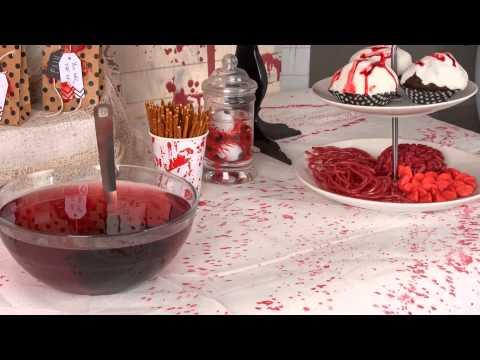 Bloederige crime scene halloween decoratie for Decoratie spullen