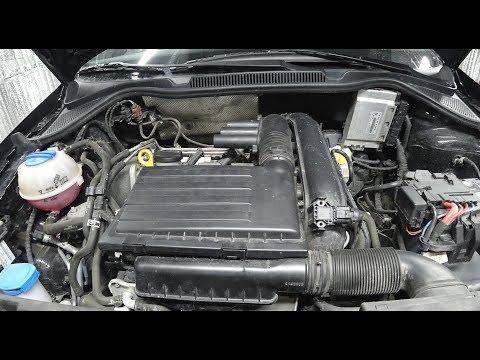 Volkswagen Polo Sedan GT 1,4 125 л.с. замена воздушного и салонного фильтров