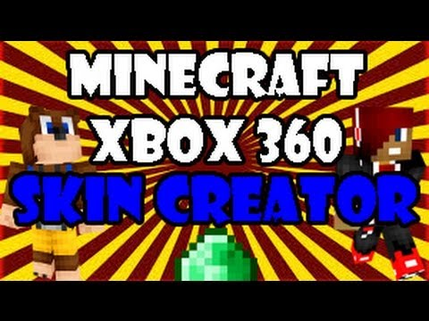Minecraft (Xbox 360) Skin Creator? - YouTube