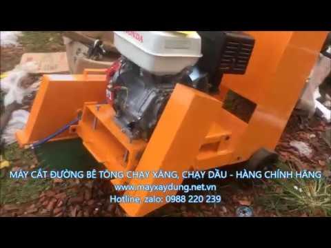 máy cắt bê tông, máy cắt đường bê tông, máy cắt đường, máy cắt bê tông  kc20 0988220239 - YouTube