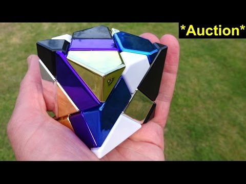 6 Colour Ghost Cube Puzzle (custom Assembled By Tony Fisher, Past Auction)