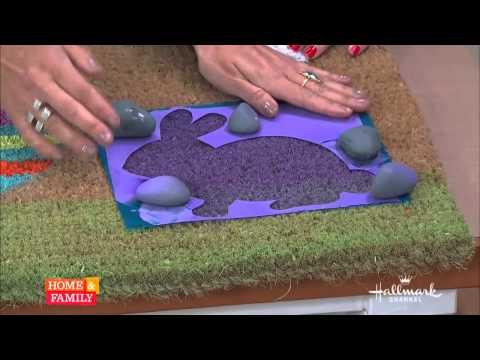 Tanya Memme DIY: How to make custom door mats!