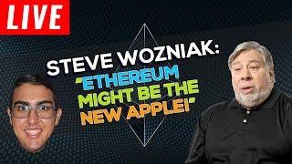 Steve Wozniak Says Ethereum ($ETH) Might be the New Apple!