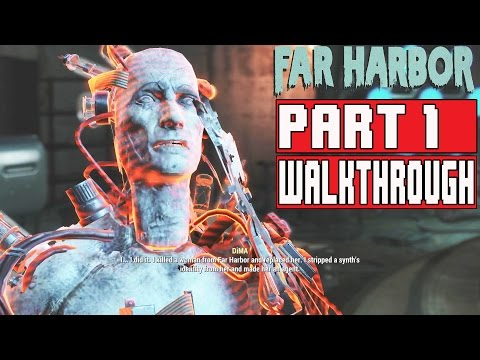 Fallout 4 Far Harbor Gameplay Walkthrough Part 1 1080p No Commentary FULL GAME