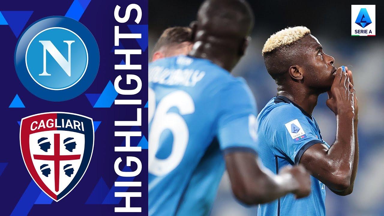 Download Napoli 2-0 Cagliari | Napoli win again! | Serie A 2021/22