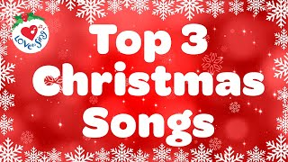 Top 3 Christmas Songs and Carols 🌟 Merry Christmas Music Playlist 🎄