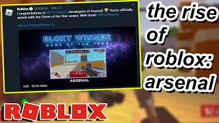 The Rise Of Roblox: Arsenal