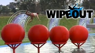 Top 5 Big Red Ball fails | Wipeout