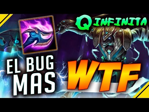 El BUG más WTF del LOL - Q INFINITA de NASUS | League Of Legends