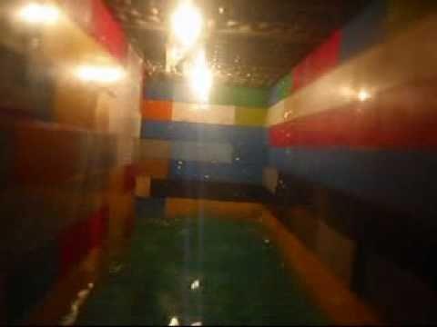 Titanic hallway flooding youtube for Shark tank fairy door