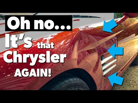 EXTREME Dent Repair   Chrysler Front Wing