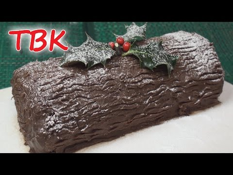Christmas Chocolate Log Recipe