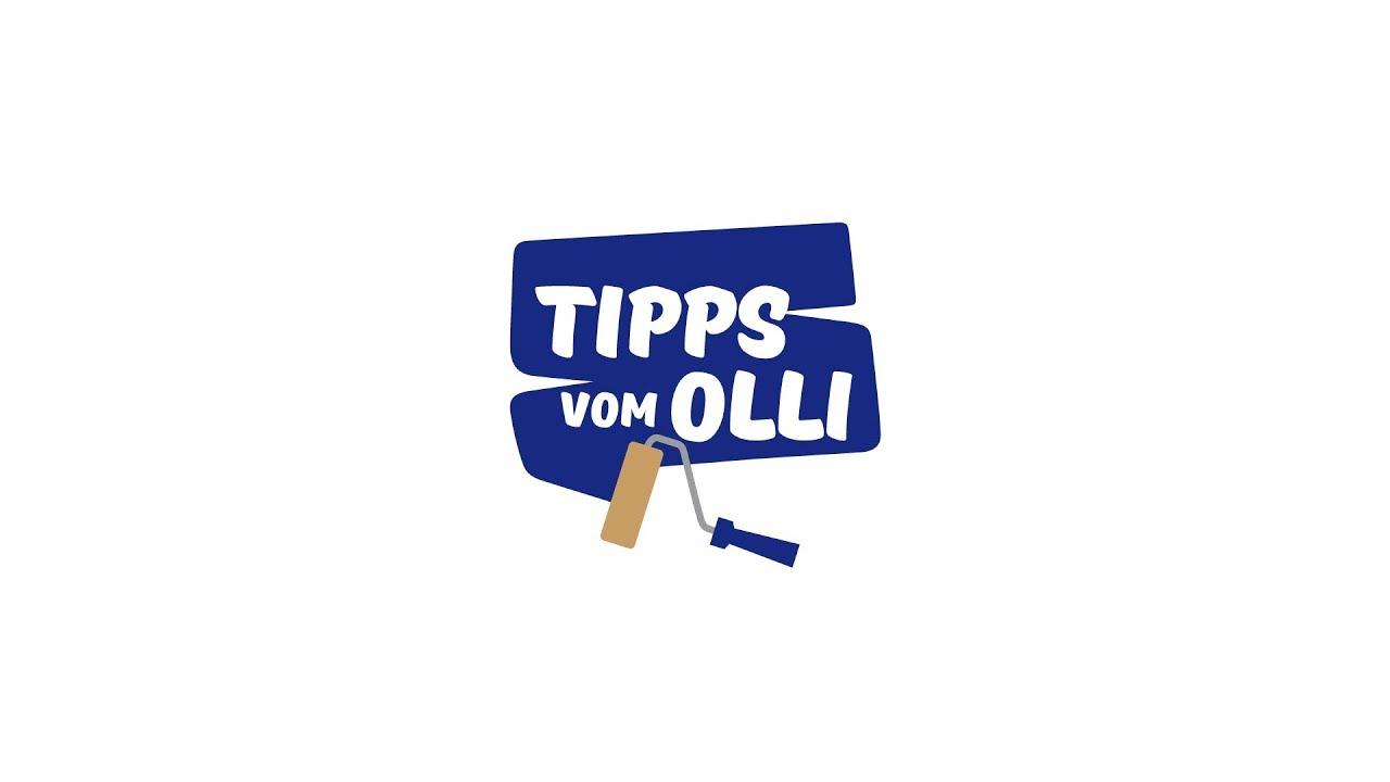 Tipps vom Olli 2 - Wände und Decke streichen - YouTube