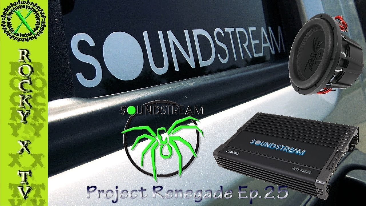 Soundstream Sub Amp Install T5 2500w Project Renegade Ep Wire A 4 Ohm Dual Voice Coil Subwoofer Wiring Harness Ep25