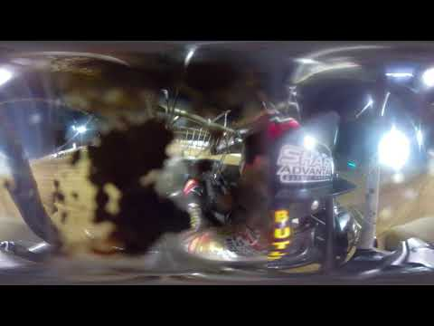 Hotlaps #41 David gravel - World of Outlaws - 10-19-19 Lake Ozark Speedway - In Car Camera