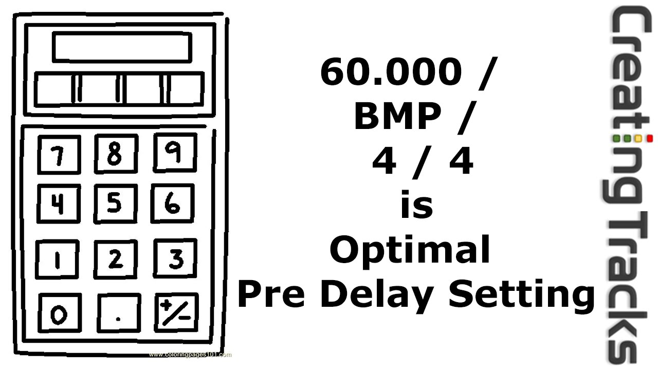 Pre delay how to calculate pre delay creating tracks youtube pre delay how to calculate pre delay creating tracks nvjuhfo Images