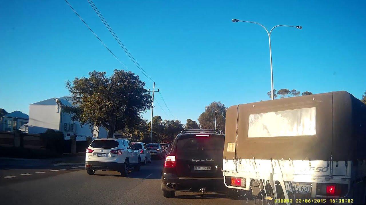 Pushy driver learns a hard lesson perth w a dash cam owners australia