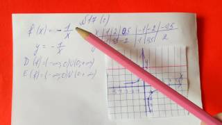 17 Алгебра 9 класс Постройте график функции заданной формулой и укажите область определения функции