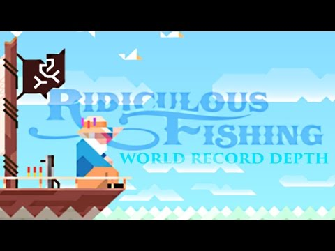 Ridiculous Fishing MAELSTROM (previous) WORLD RECORD DEPTH (1600m)