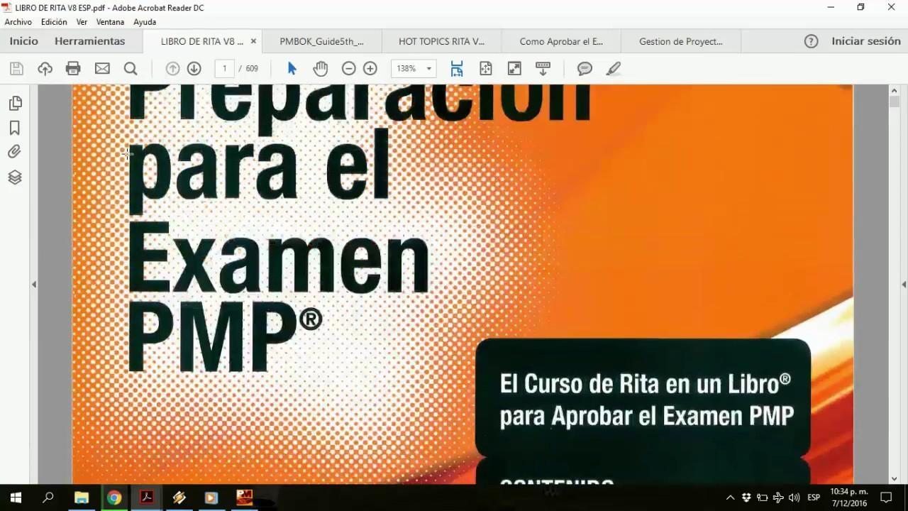 Kit rita mulcahy en espaol version 8 para certificarte como pmp kit rita mulcahy en espaol version 8 para certificarte como pmp 2017 fandeluxe Choice Image